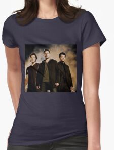 Supernatural Trio Womens Fitted T-Shirt
