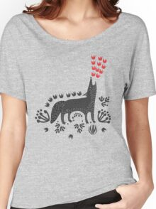 Wolf...  Women's Relaxed Fit T-Shirt