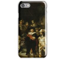 Rembrandt - The Night Watch iPhone Case/Skin