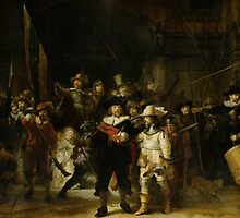 Rembrandt - The Night Watch by mosfunky