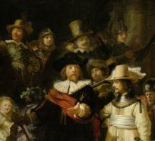 Rembrandt - The Night Watch Sticker