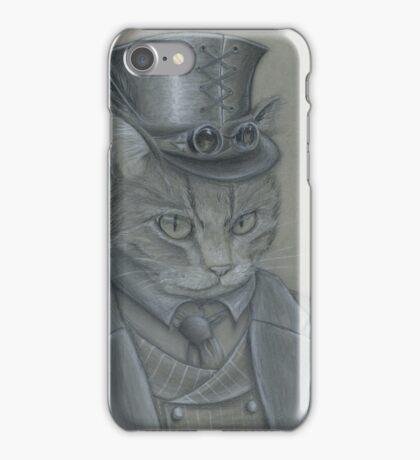 Steampunk Cat iPhone Case/Skin