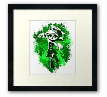 Inkling Marie - Green Framed Print