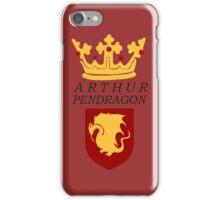 Arthur Pendragon Crest Print (BBC Merlin) iPhone Case/Skin