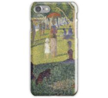 Georges Seurat's A Sunday Afternoon on the Island of La Grande Jatte iPhone Case/Skin