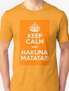 Hakuna Matata no worries T-Shirt