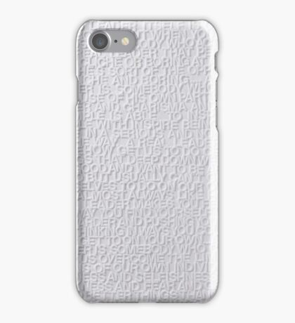 David Foster Wallace's Definition of Leadership iPhone Case/Skin