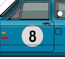 Honda N600 Blue Kei Race Car Sticker