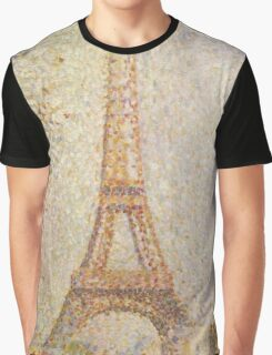 Georges Seurat's La Tour Eiffel Graphic T-Shirt