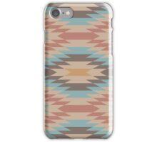 Oriental Geometric Pattern - muted colors iPhone Case/Skin