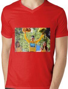 Bradley Wiggins 2012 Mens V-Neck T-Shirt
