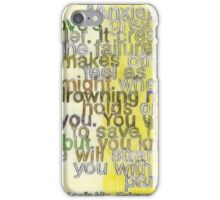 Quote by Anais Nin, made for BrainPickings.org iPhone Case/Skin