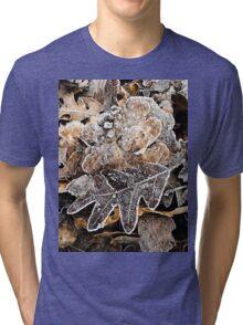 Winter leaves Tri-blend T-Shirt