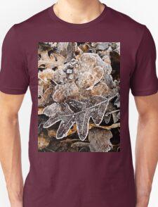 Winter leaves Unisex T-Shirt