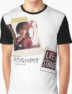 LIFE is STRANGE · T-SHIRT 'ready for the mosh pit shaka brah' Graphic T-Shirt