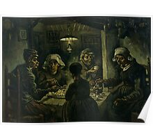 Vincent van Gogh's The Potato Eaters Poster