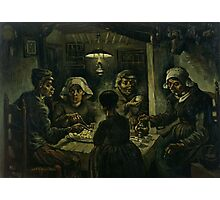 Vincent van Gogh's The Potato Eaters Photographic Print