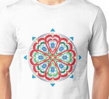 Valentine Compass Rose Pattern Unisex T-Shirt