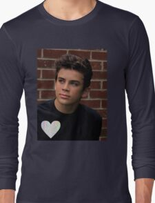 Hayes Grier- trippy heart Long Sleeve T-Shirt