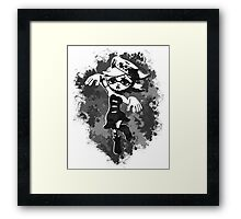 Inkling Marie - BW Framed Print