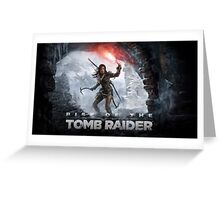 Rise of the Tomb Raider Greeting Card