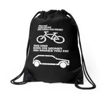 daily diet  Drawstring Bag