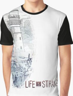 LIFE is STRANGE · T-SHIRT lighthouse Graphic T-Shirt