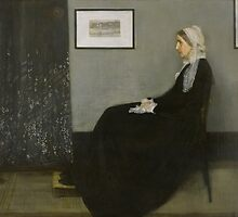 James Whistler's Arrangement in Grey and Black No. 1 by mosfunky