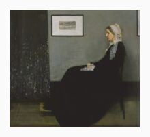 James Whistler's Arrangement in Grey and Black No. 1 One Piece - Long Sleeve
