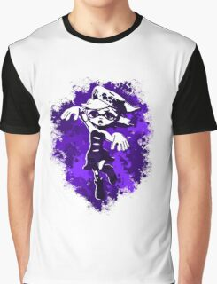 Inkling Marie - Purple Graphic T-Shirt