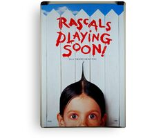 playing soon Canvas Print