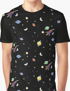 I'd Never Find You In Space Graphic T-Shirt