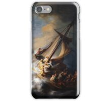 Rembrandt's The Storm on the Sea of Galilee iPhone Case/Skin