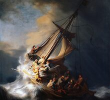 Rembrandt's The Storm on the Sea of Galilee by mosfunky