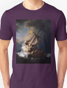 Rembrandt's The Storm on the Sea of Galilee Unisex T-Shirt