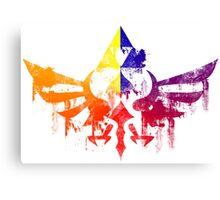 Skyward Rainbow v4 Canvas Print