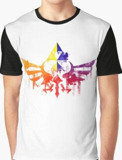 Skyward Rainbow v4 Graphic T-Shirt