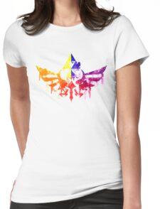Skyward Rainbow v4 Womens Fitted T-Shirt