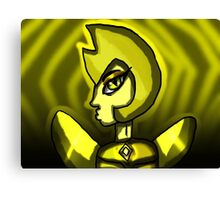 My Great Yellow Diamond Canvas Print