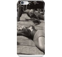 Creature from the Black & White Lagoon iPhone Case/Skin