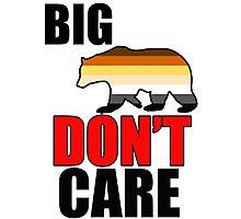 big bear don't care Photographic Print