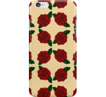 Vintage Rose Pattern  iPhone Case/Skin