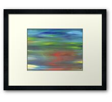 ABSTRACT 438 Framed Print