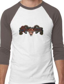 Run Into The Shadow Men's Baseball ¾ T-Shirt