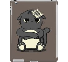 assholes wear fur - cats PETA parody iPad Case/Skin