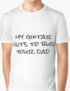 My Guitar Rock Punk Cool Graphic T-Shirt