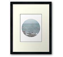 Rocky Beach Travel Photography Framed Print