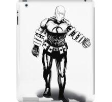 the black inked hero iPad Case/Skin