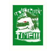 It's Morphin' Time (Green) Art Print