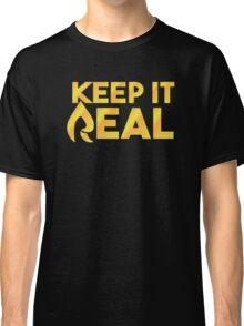 "Faze Rain | ""Keep it Real"" | Black Background | Classic T-Shirt"